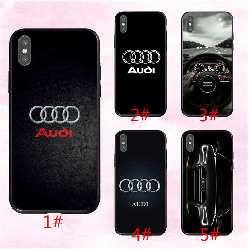Colorful For Audi Car Rs Logo Case IPhone 11 X XR XS Max 8 7 6 6s Plus Full Protective Cover