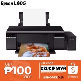 Epson L805 Wi-Fi Photo Ink Tank Printer | Shopee Philippines