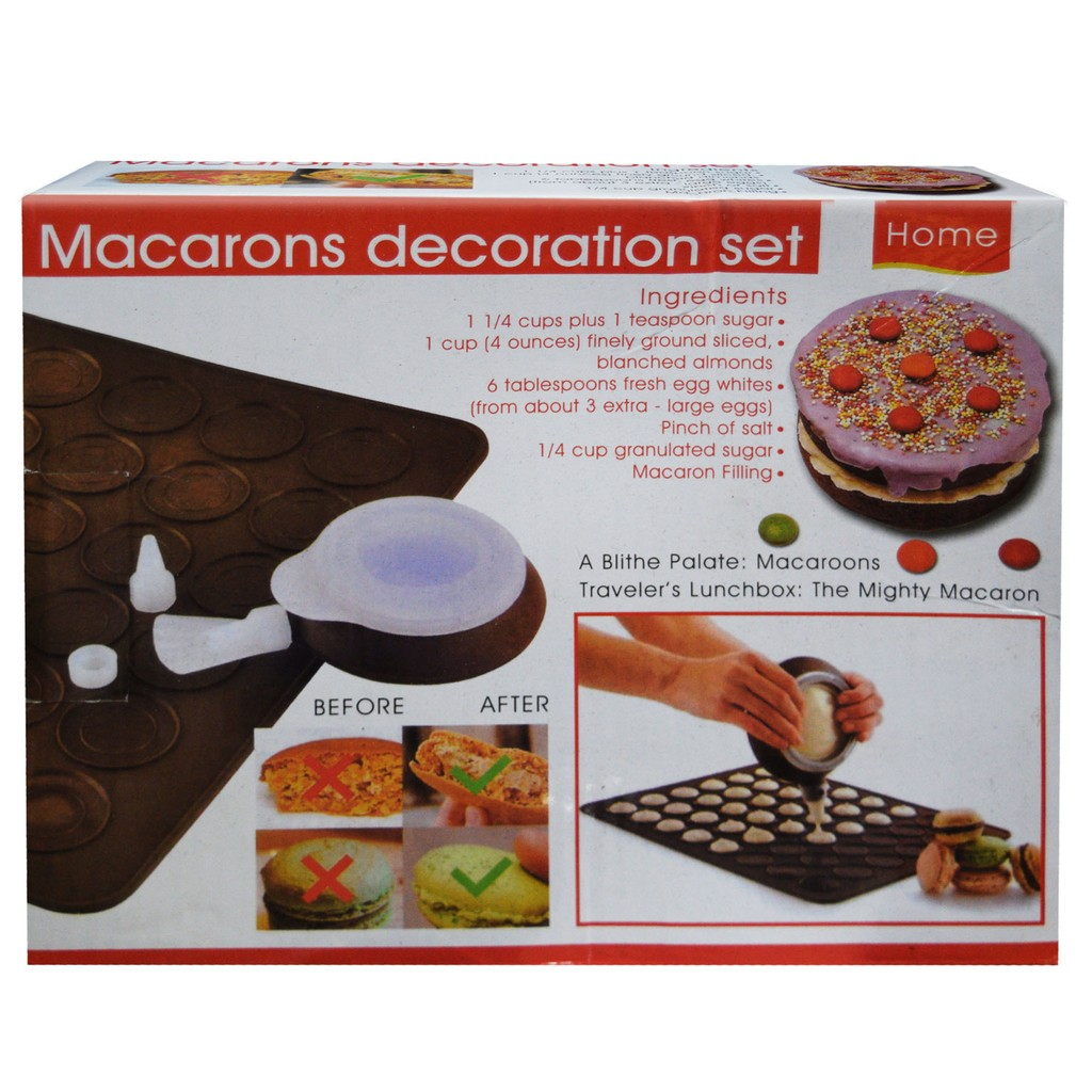 Macarons Decoration Set Home