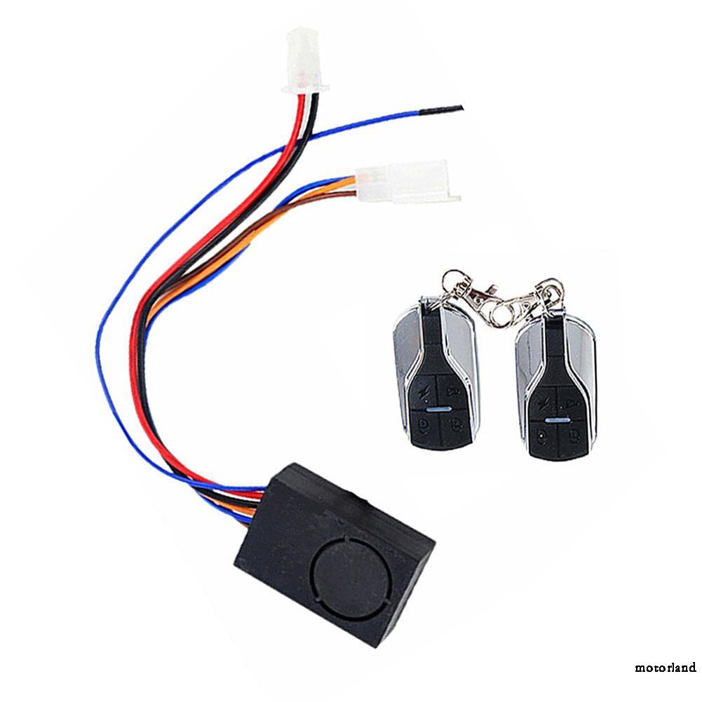 Dual Remote Control Control box 36V-72V Anti-theft Alarm Wireless Remote