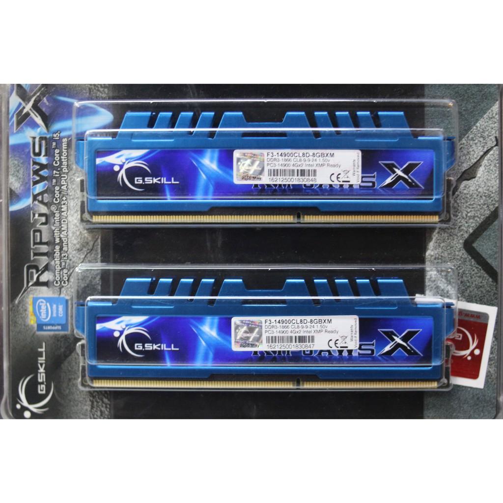 Gskill Ripjaws X DDR3 Desktop Memory | Shopee Philippines