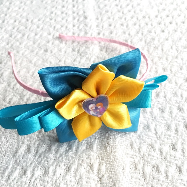 Lower Price with New Gymboree Headband Headbands Lot Of 3 Yellow Blue Pink Attractive Designs; Clothing, Shoes & Accessories