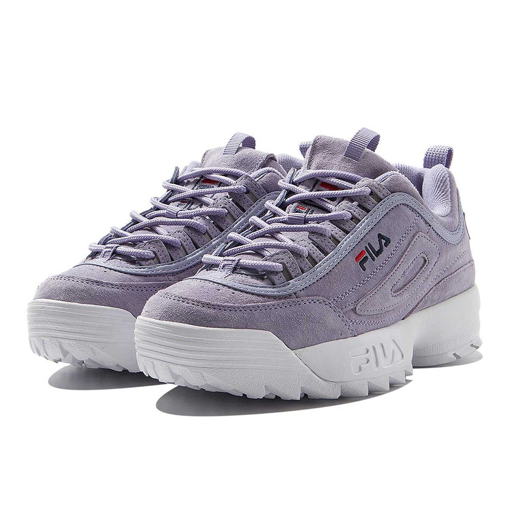 Authentic FILA Disruptor 2 Lavender Sneakers Women's Shoes