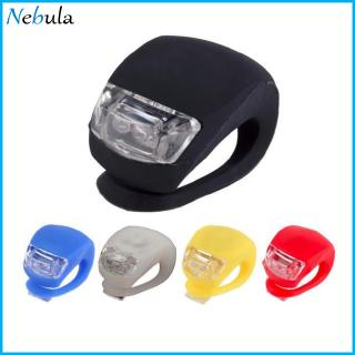 Silicone Bike Bicycle Frog Head Rear Lamp Warning Flash Bright Light LED