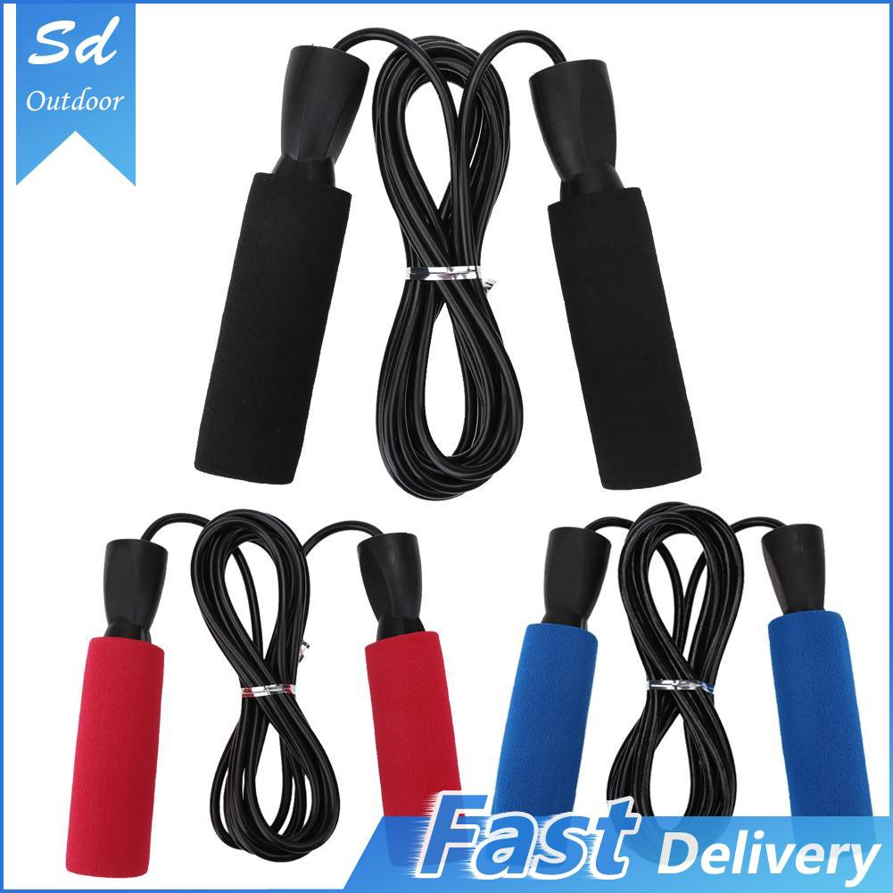 Running Duck Jump Rope with Comfortable Soft Handle Red Handle Adjustable Tangle-Free Skipping Rope Ideal for Aerobic Exercise