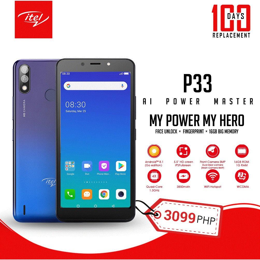 iTel P33 Smart Phone