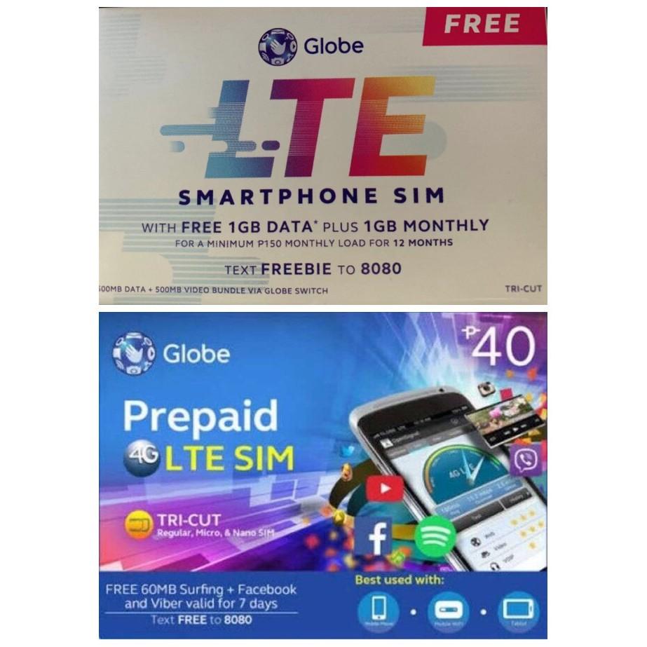 Globe sim card | Shopee Philippines
