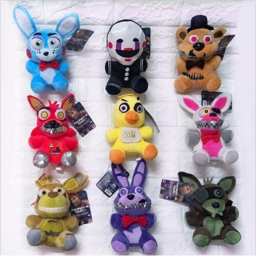 Koala Stuffed Animals Mini, Fnaf Five Nights At Freddy S Fazbear Game Short Plush Toy Stuffed Dolls 9pcs Set Shopee Philippines