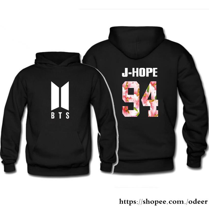 BTS BON VOYAGE Season2 Bulletproof Youth League Loose hooded