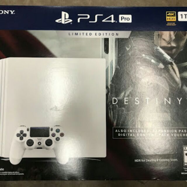 Ps4 Pro 1tb Hdr Destiny 2 Limited Edition Shopee Philippines