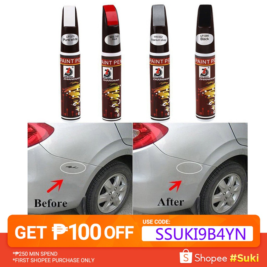 Car Coat Paint Pen Touch Up Scratch Clear Repair Remove Tool