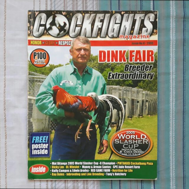 COCKFIGHTS magazine - #4 - 2005 - Dink Fair