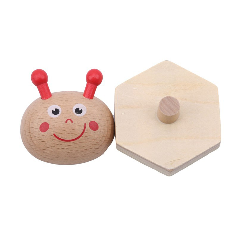 New Lovely Baby Wooden Bricks Building Block Toys