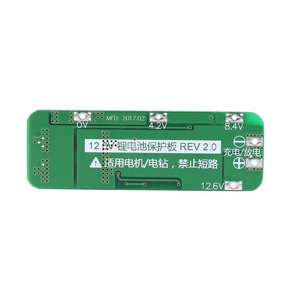 3s 10a Li Ion Battery Protection Board Bms Pcm Hx Fl10a A 4v Pcb Circuit Croons 74v 18650 Shopee Philippines