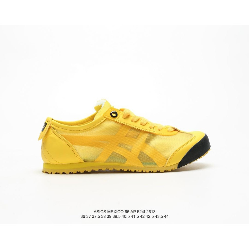 super popular f4f29 0f754 Original Arthurs Onitsuka Tiger Mexico 66 Slip-On transparent mesh  breathable running shoes