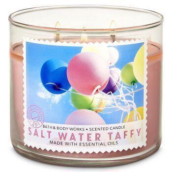 3 Bath /& Body Works PINK LEMONADE PUNCH 1-Wick Medium Jar Candle 4 oz //each