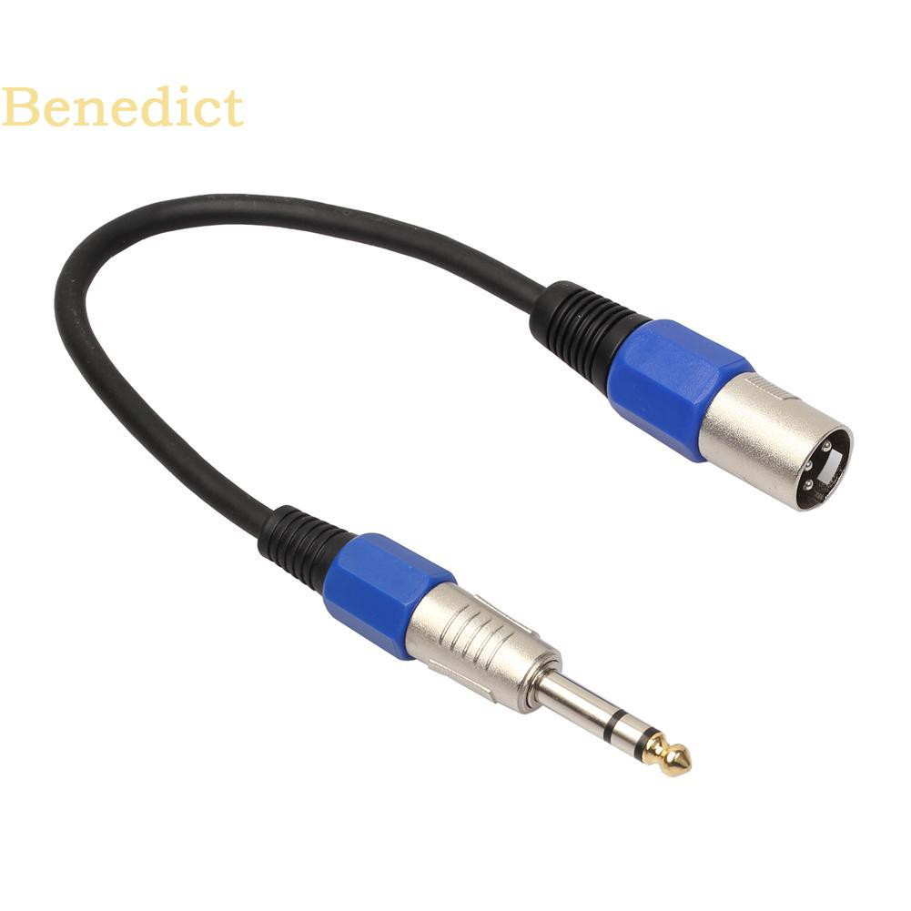 Dual 6.35mm SP Female Jack to Stereo 6.35mm Female Audio Video Extension Cable