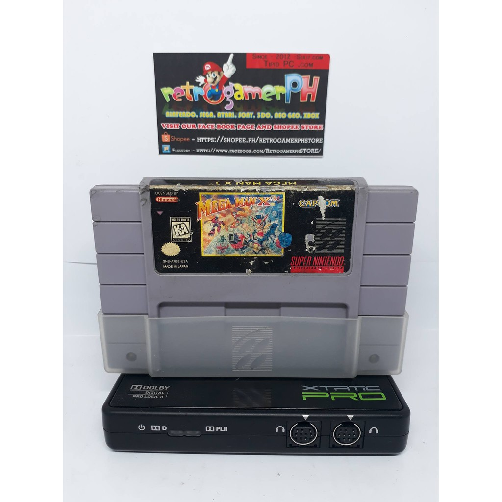 RARE! Megaman X-3 - Authentic Super Nintendo (SNES)