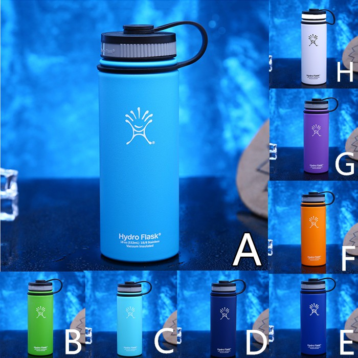 18oz Hydro Flask Cup Insulated Stainless Steel Water Bottle