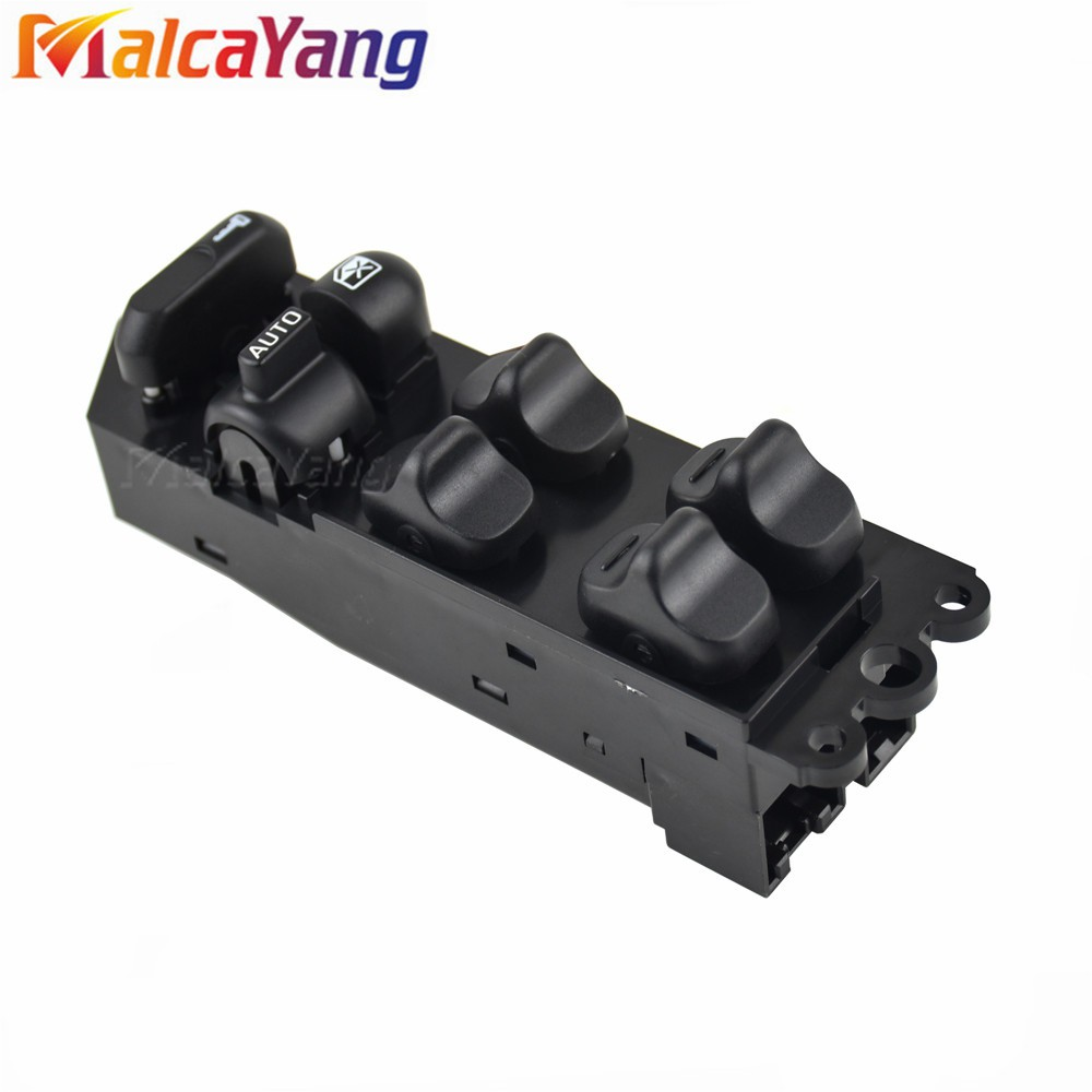 Terisass Power Window Switch BP1E-66-350 Car Front Driver Side Power Master Window Control Switch BP1E66350 for Mazda 3 2004 2005 2006 2007 2008 2009 2010