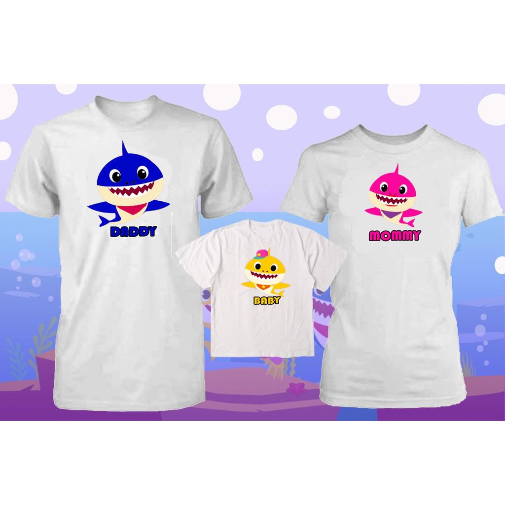 682061f2 Baby Shark Family Shirt | Shopee Philippines