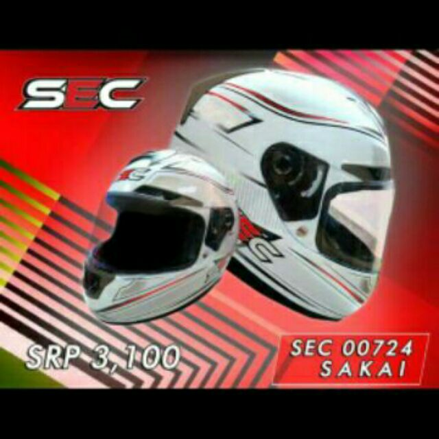 SALE!!! AUTHENTIC SEC FULL FACE HELMET