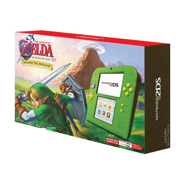 Nintendo 2DS Link Edition [US Version]