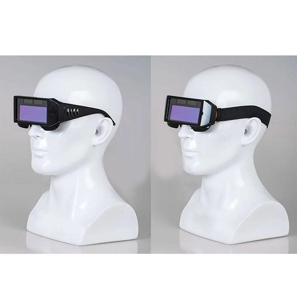 Pro Auto Solar Darkening LCD Mig Mask Welding Glasses 2 Way Goggles Helmet Eyes