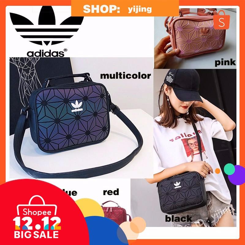 d5ac58a734ab 100% Original Adidas 3D Mesh Sling Bag x Issey Miyaki