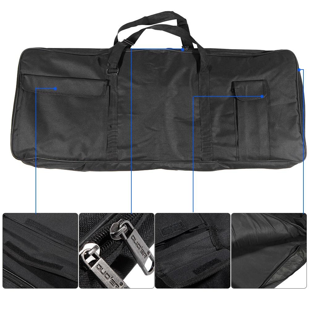 Ī 61-Key Keyboard Electric Piano Organ Gig Bag Soft Case Dua
