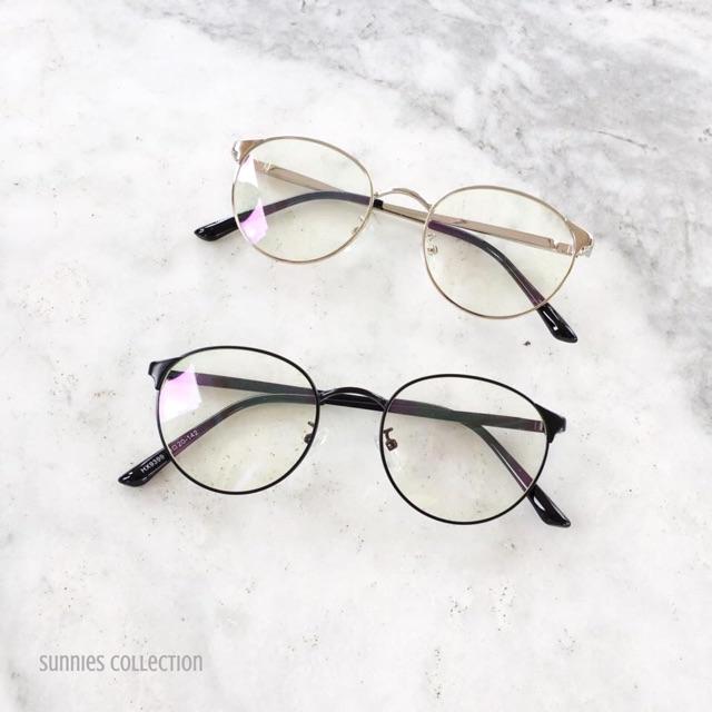 87947599ea Peculiar 1766 Round Anti Radiation Replaceable Lens Eyewear
