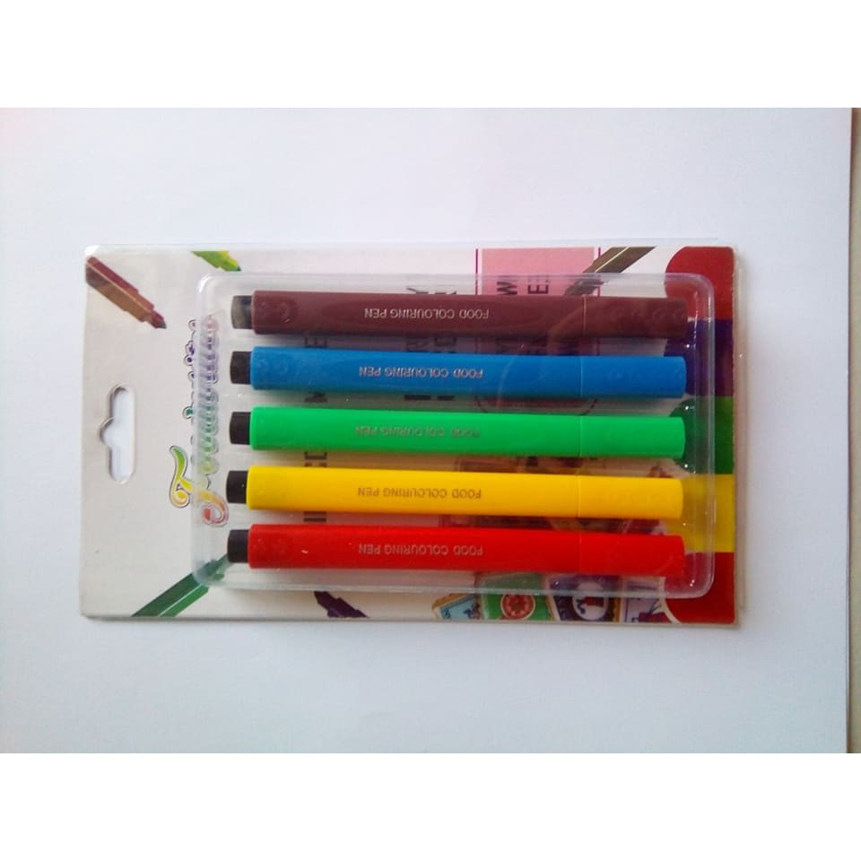 Bento: Edible Deco Pen Colored