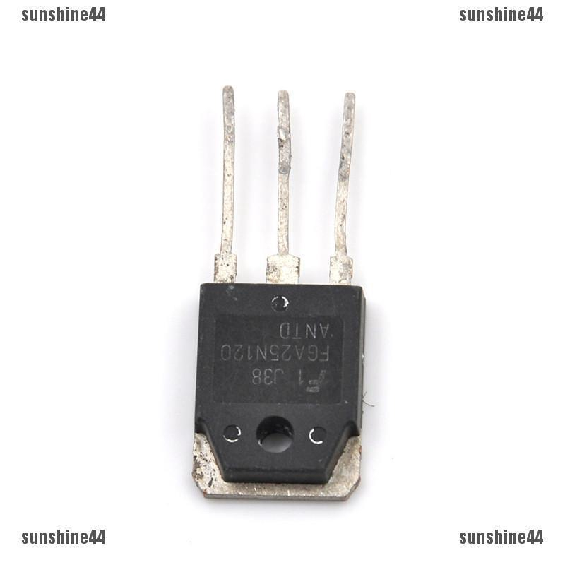 1pc Power transistor IGBT 1200V FGA25N120 ANTD 25N120 Power