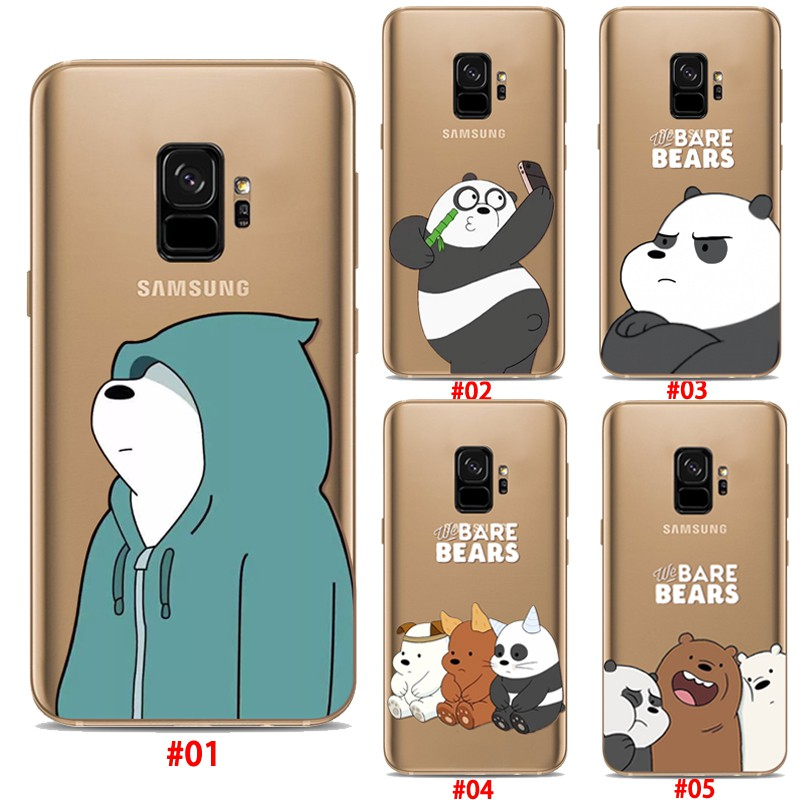 buy popular 6642a 5f829 Samsung Galaxy S9 S9Plus S8 S7EDGE We Bare Bears Case