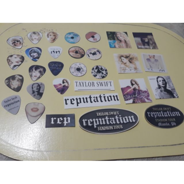 Taylor Swift Stickers 32 Pcs Shopee Philippines