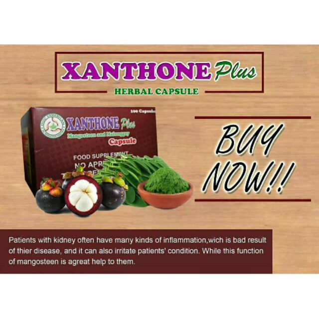 how much is xanthone plus herbal capsule