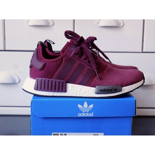best authentic 2e9c2 e5809 ... Adidas NMD R1 Cashmere skin Runner Shoes Red Wine. like  4