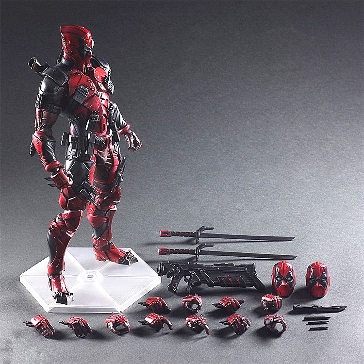 Marvel Universe Variant Play Arts Kai Deadpool PVC Action Figure Model Toy