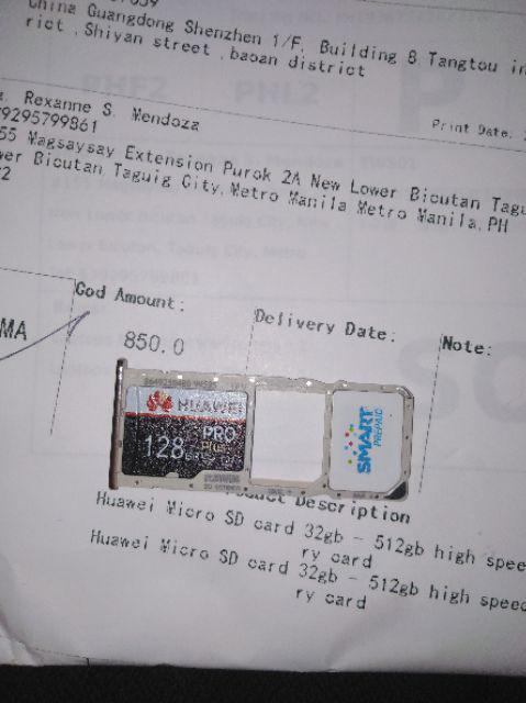 Huawei Micro SD card 32gb - 512gb high speed memory card