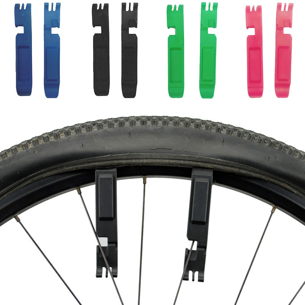 2pcs Bicycle MTB Mountain Bike Tire Levers Plastic Link Chain Pliers Repair Tool