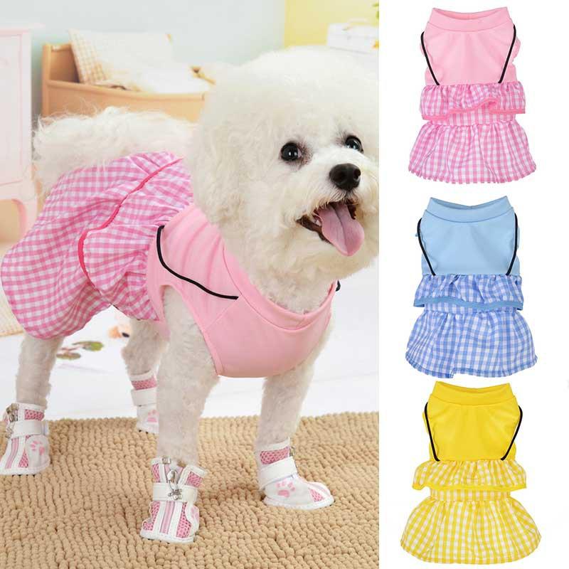 Dog dress Small size dog Small dog dress Pink dog dress Dog clothes small Clothes for dog