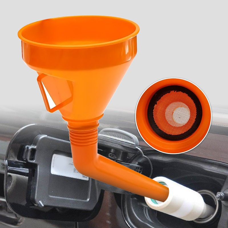 Large Oil Funnel With Flexible Neck