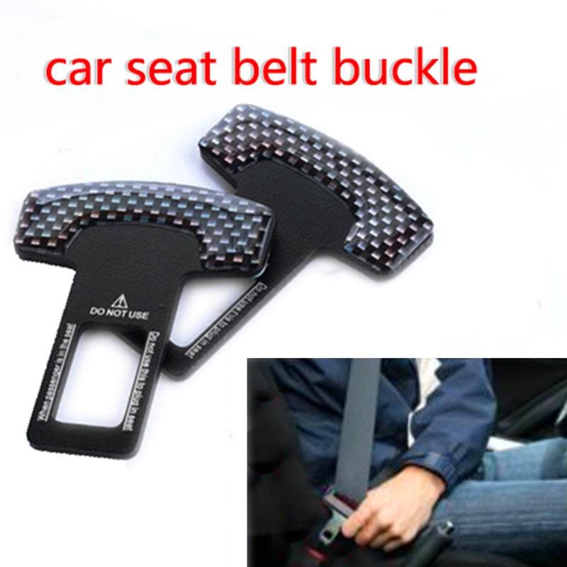 Car Alarm Eliminator Clip New Car Safety Seat Belt Buckle Alarm Stopper Clamp