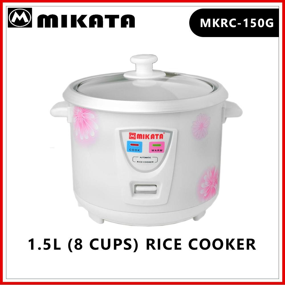 Mikata Mkrc 150g 1 5l 8 Cups Rice Cooker Shopee Philippines