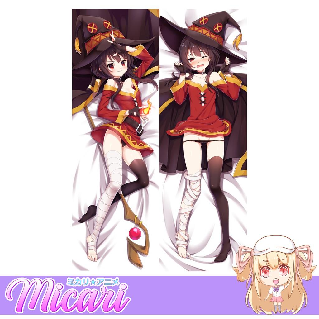 Picture of: Micari Konosuba Megumin Anime Dakimakura Half Dakimakura Life Size Pillow Case Body Pillow Shopee Philippines