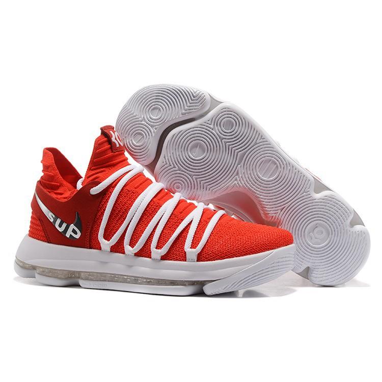 newest 1c2f9 cde8e Nike KD 10 EP Men's Sports Basketball Training Shoes -295