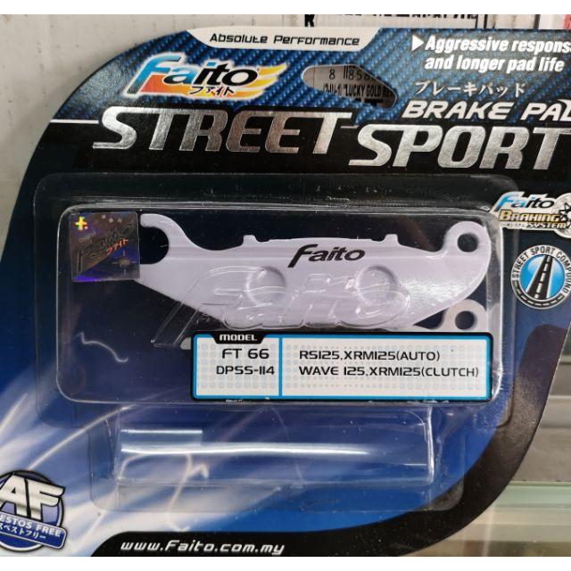 FAITO Street Sport Brake Pad Wave / XRM 125