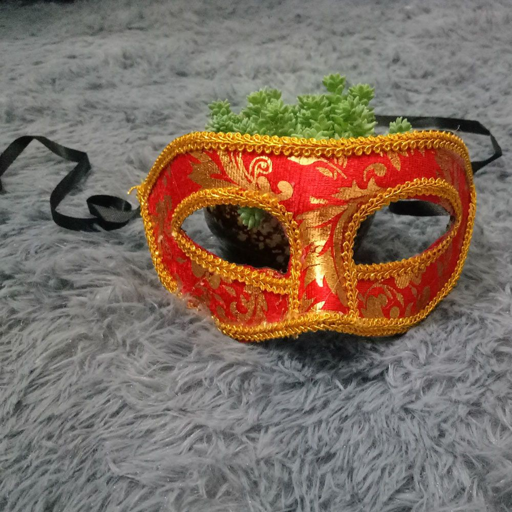 Wedding Masked Womens Party Prom Masquerade Mask Velvet Venetian Style