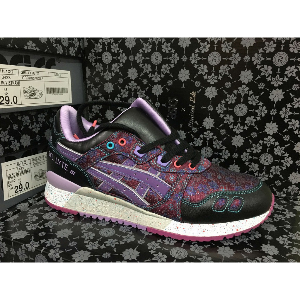 Asics gel lyte III men and women leather fashion casual sports sneakers shoes