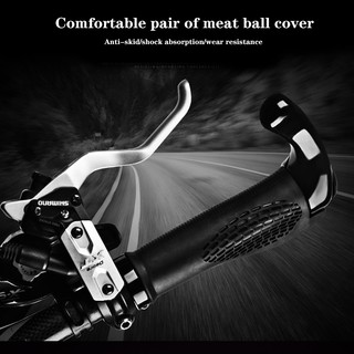 1 pair Bicycle Handlebar Cover Grip Soft Rubber Handlebar Cover handle Bar SN
